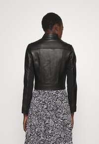 MICHAEL Michael Kors - PONTI COMBO - Leather jacket - black - 2