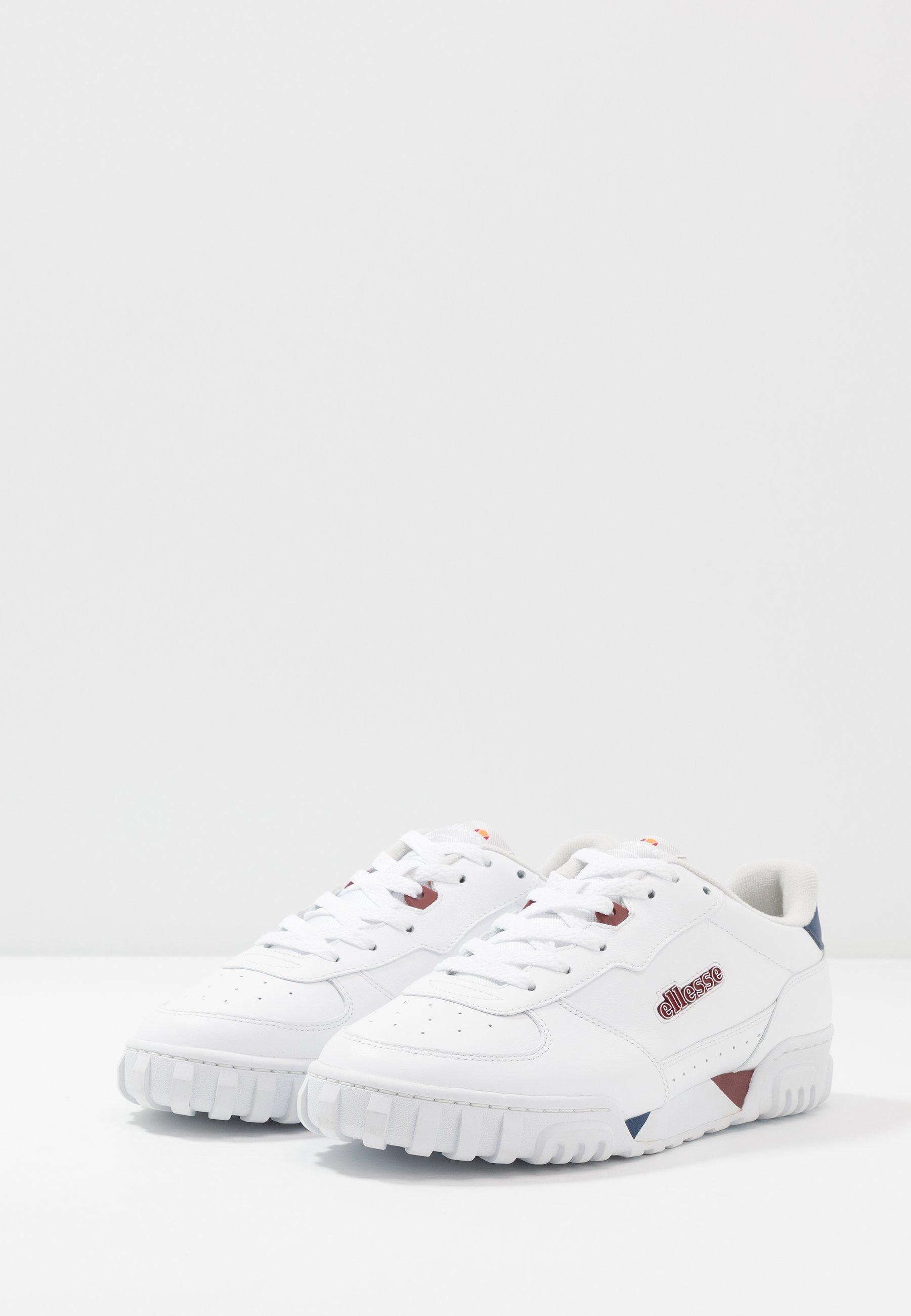 Ellesse TANKER - Sneaker low - white/dark blue/dark red/weiß - Herrenschuhe vPUpy