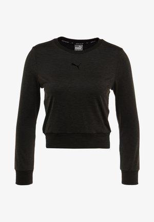 SOFT SPORTS TEE - Sports shirt - puma black heather