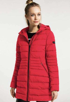 Winter coat - cherry red