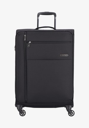 Wheeled suitcase - black