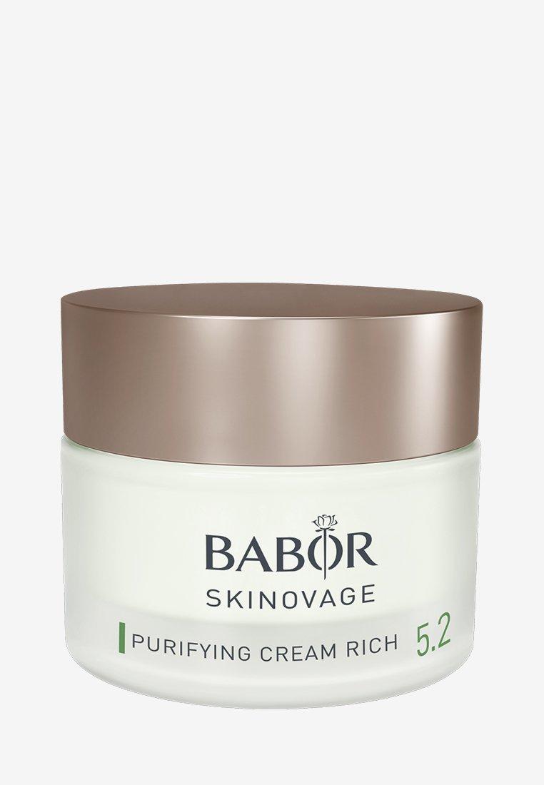 BABOR - SKINOVAGE PURIFYING CREAM RICH - Face cream - -