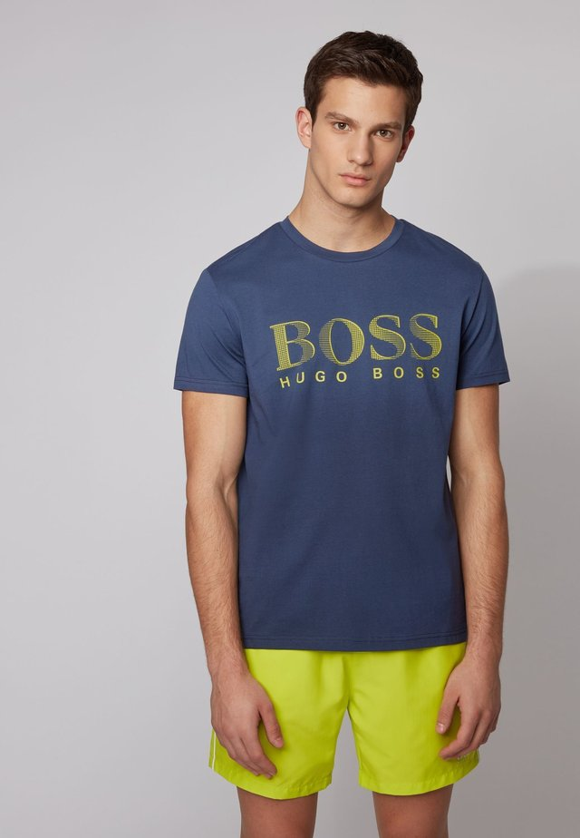 T-SHIRT RN - Print T-shirt - dark blue