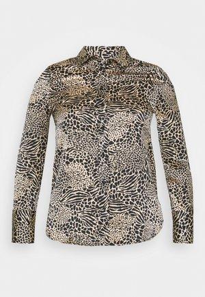 ANIMAL - Button-down blouse - sand