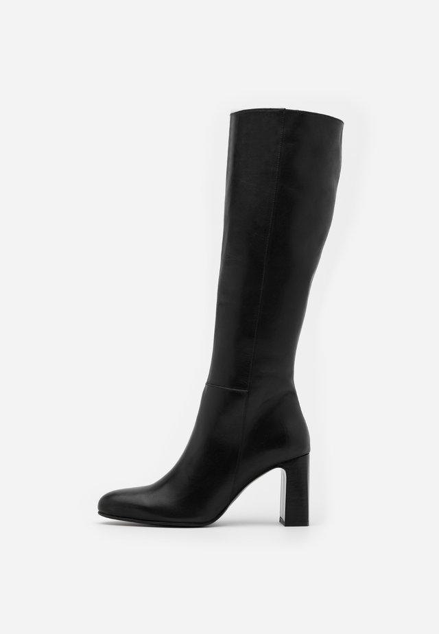 DEBANUM - Stivali alti - noir