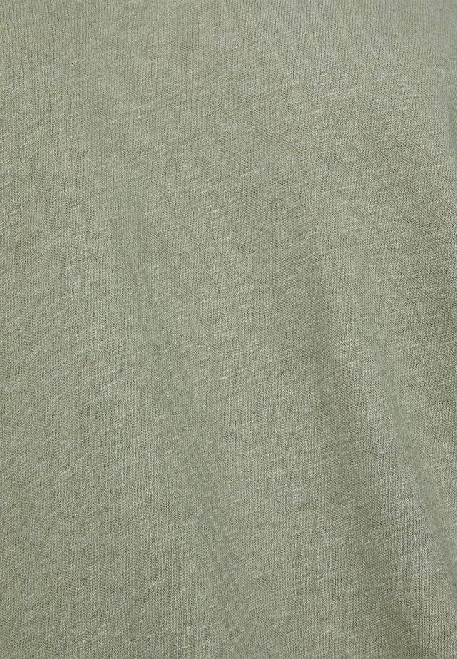 TEE - T-Shirt basic - light khaki