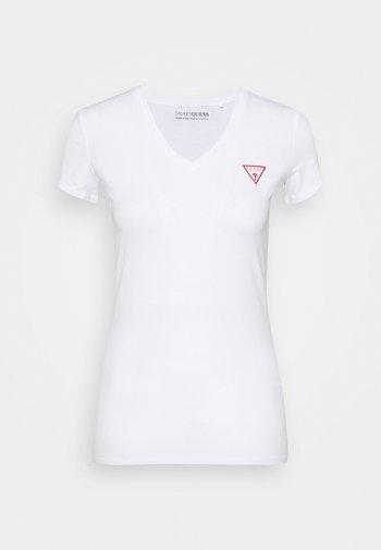 MINI TRIANGLE - Print T-shirt - true white