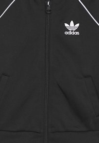 adidas Originals - TRACKSUIT SET - Tracksuit - black/white - 3