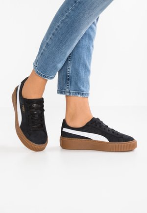 BASKET PLATFORM PERF GUM - Zapatillas - black