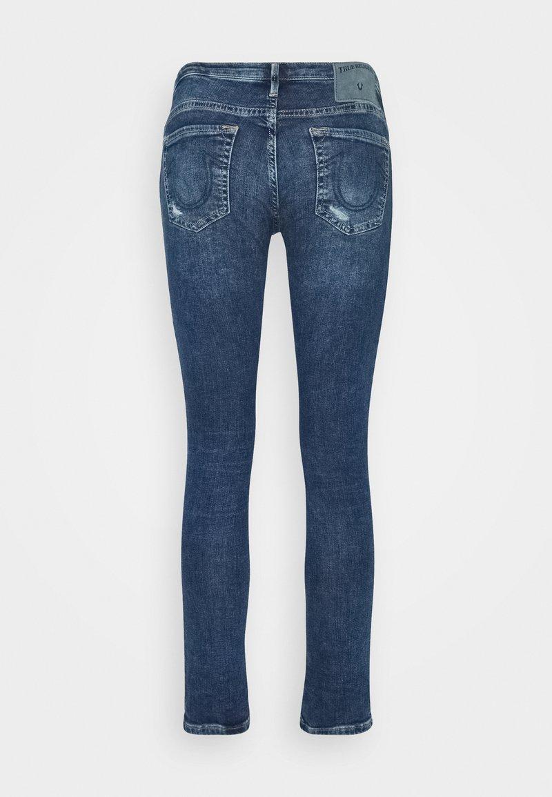 True Religion NEW HALLE REGULAR WAIST - Jeans Skinny Fit - blue/blau 68TQiq
