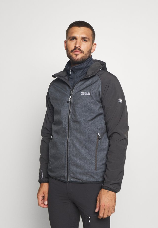 AREC  - Soft shell jacket - ash/ash