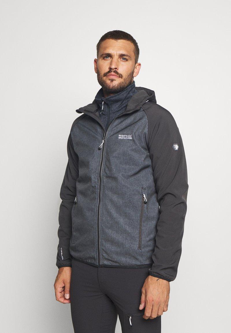 Regatta - AREC  - Soft shell jacket - ash/ash