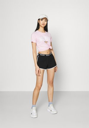 CHAIN LOGO - Shorts - black