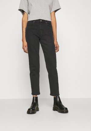 ONLERICA LIFE MID - Džíny Straight Fit - black denim
