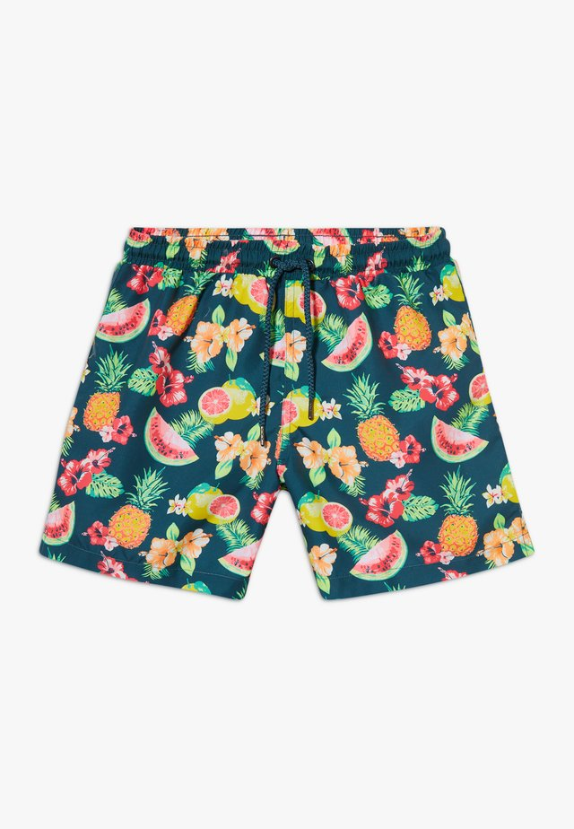 BOYS ALOHA FRUIT SWIM  - Swimming shorts - teal