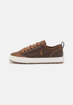 ASHER - Sneakers laag - brown/tan burnished