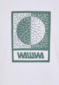 WAWWA - UNISEX TIKSI - Printtipaita - white - 2