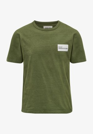 HEAVY - T-shirt med print - winter moss