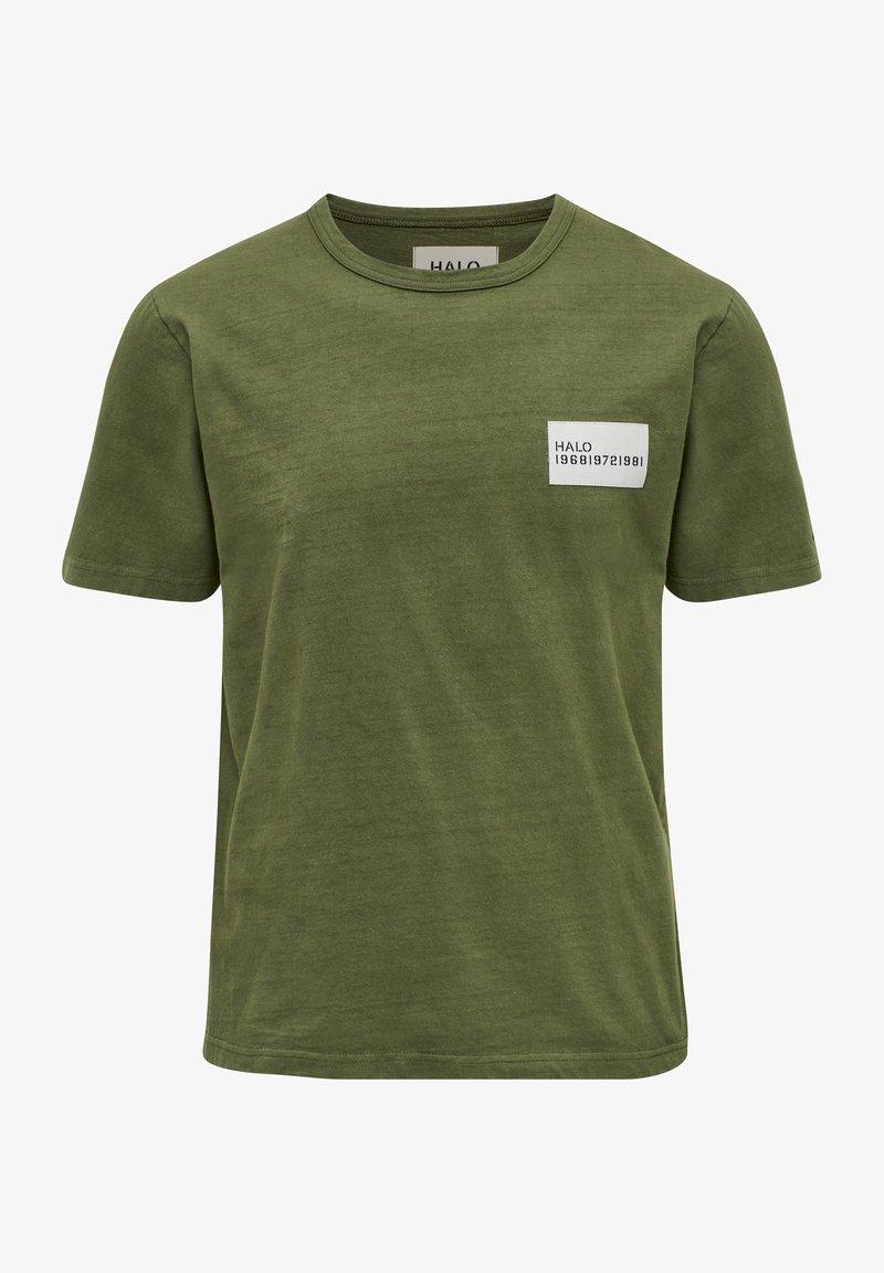 HALO - HEAVY - T-shirts print - winter moss
