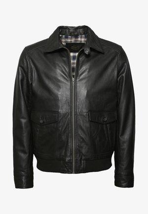 MIT BRUSTTASCHE SAMUEL - Leren jas - black