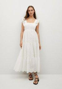 Mango - Day dress - white - 0