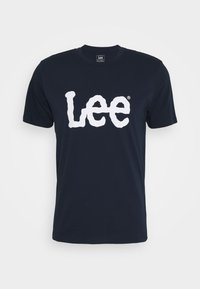 Lee - WOOBLY  TEE - T-shirt con stampa - navy drop - 4
