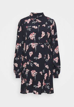 VMRIBINA SHORT DRESS  - Shirt dress - navy blazer