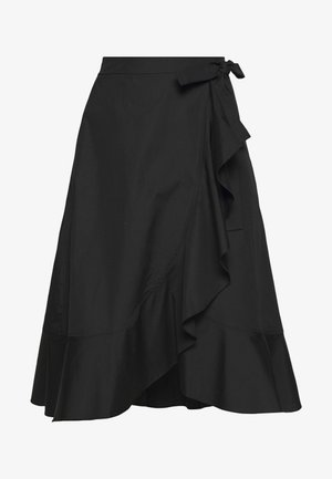 ADELIA SKIRT  - A-line skirt - black