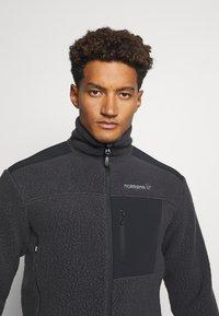 Norrøna - TROLLVEGGEN THERMAL PRO JACKET - Fleece jacket - black - 3