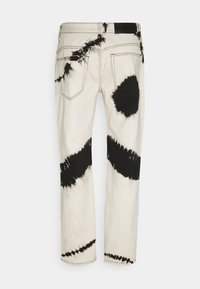 Mennace - TIE DYE RELAXED - Jeans baggy - white - 1