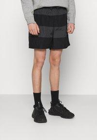 Nike Sportswear - Shorts - black/smoke grey - 0