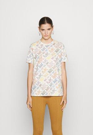 QIXI CLASSIC - Print T-shirt - bone