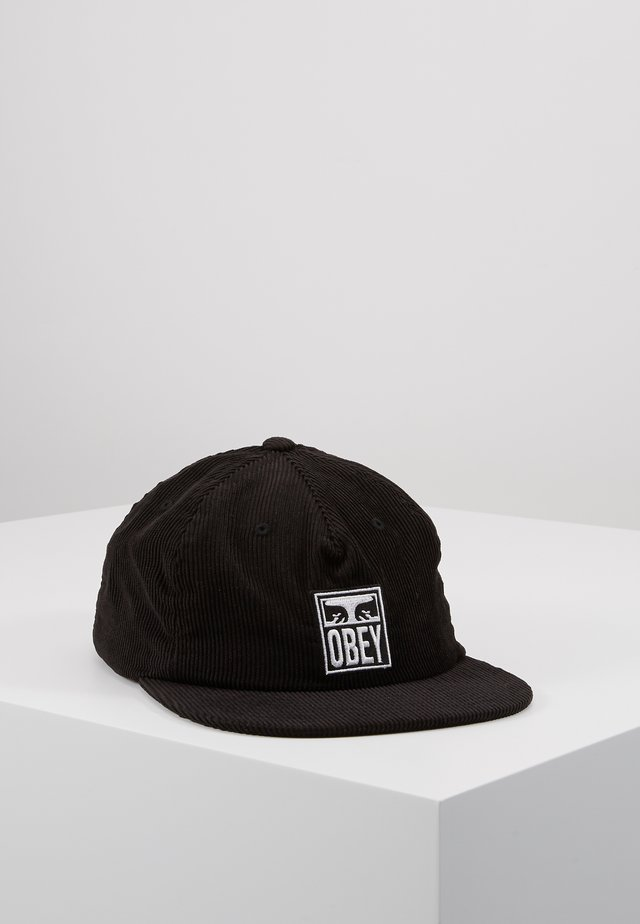 VANISH STRAPBACK - Pet - black