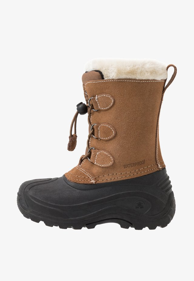 SNOWDASHER - Winter boots - putty/beige