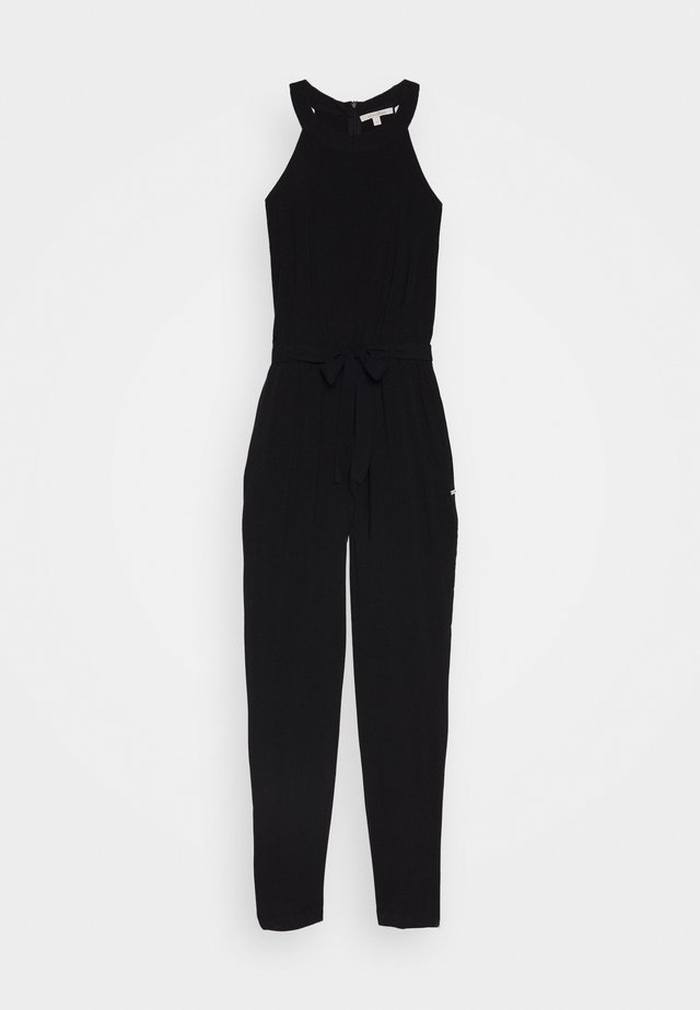 NECKHOLDER - Jumpsuit - deep black