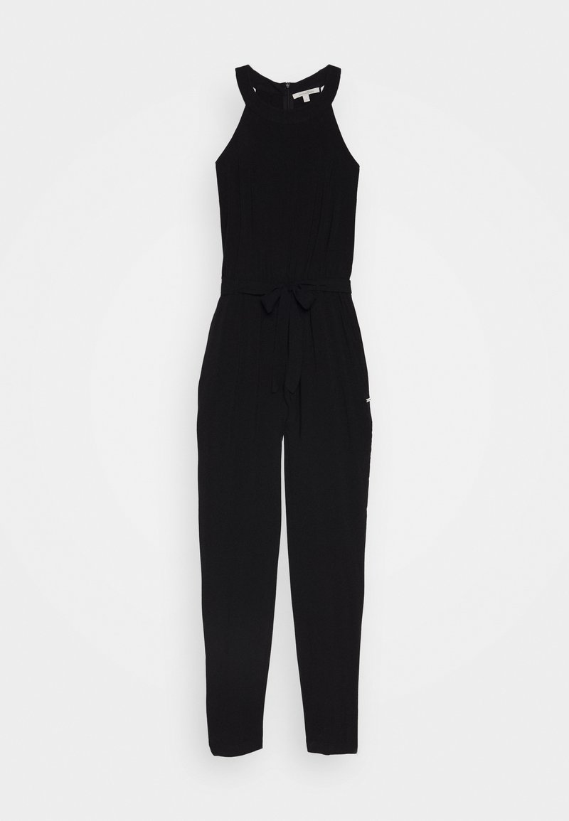 TOM TAILOR DENIM - NECKHOLDER - Jumpsuit - deep black