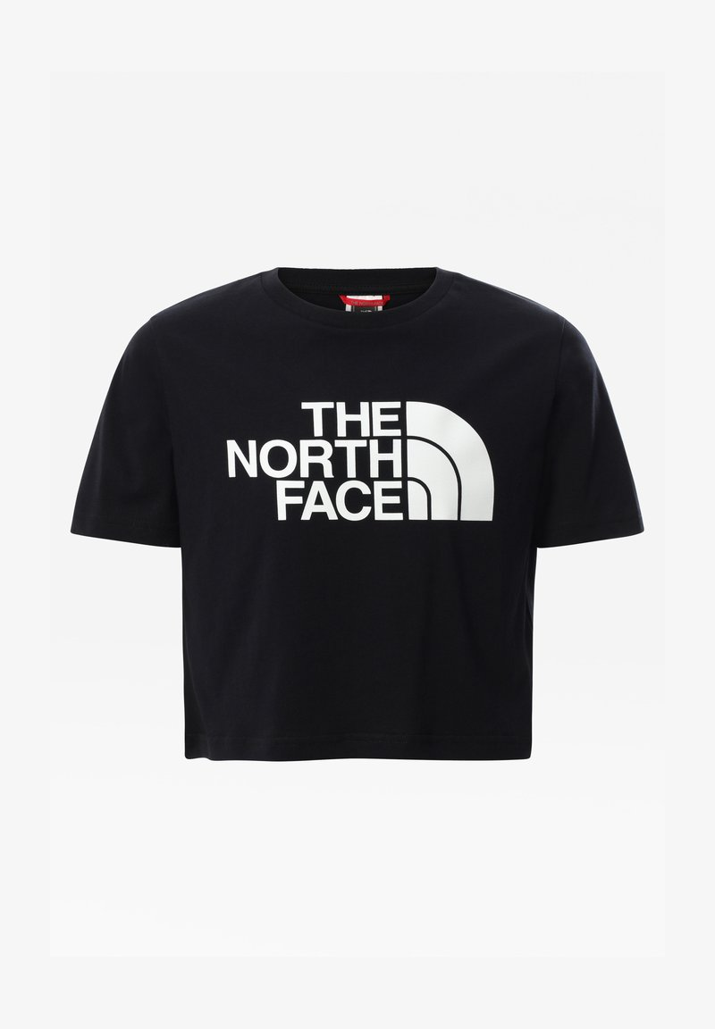 The North Face - G S/S EASY CROPPED TEE - T-Shirt print - tnf black