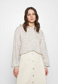 Abercrombie & Fitch - PATTERN POPOVER  - Sweatshirt - brown - 0