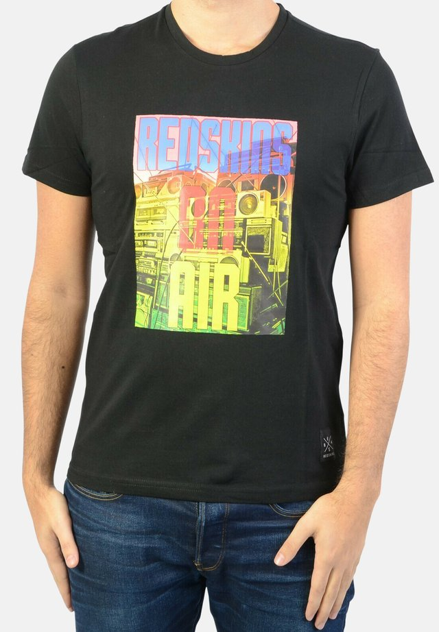 RADIO HANDY - T-shirt imprimé - black