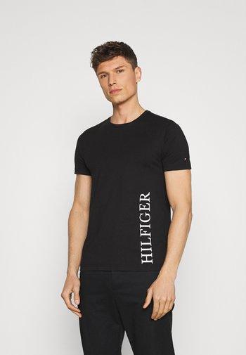 SMALL LOGO TEE - T-shirt imprimé - black