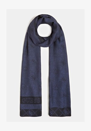 JACQUARDSCHAL LOGO - Écharpe - blau