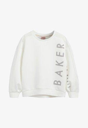 BAKER BY TED BAKER - Sweatshirt - white