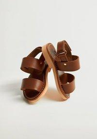 Mango - Sandals - mittelbraun - 5