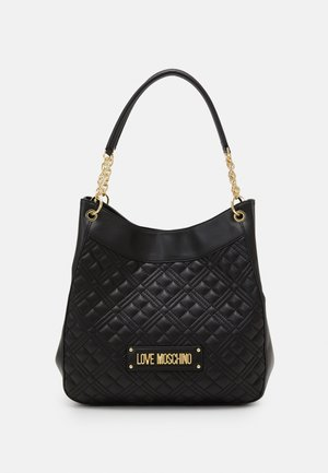 QUILTED SOFT - Handbag - nero