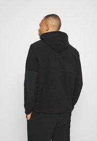 Peak Performance - TECH SOFT - Zip-up hoodie - black - 2