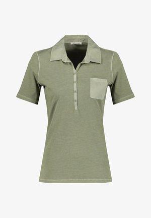 Polo shirt - tanne