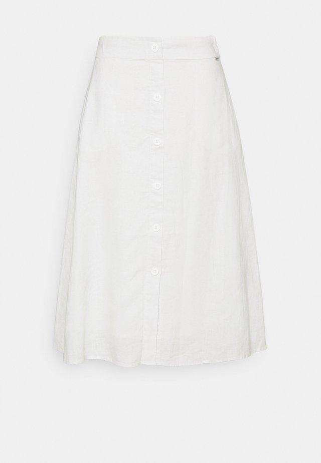 SKY SKIRT WOMAN - Plisovaná sukně - antartica