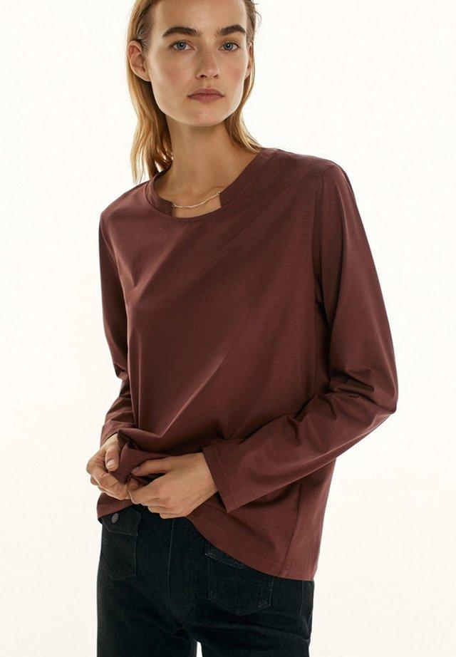 T-shirt à manches longues - dark purple