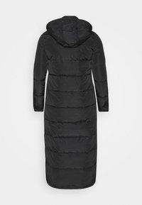 Noisy May Tall - NMMAI LONG JACKET - Winter coat - black - 1