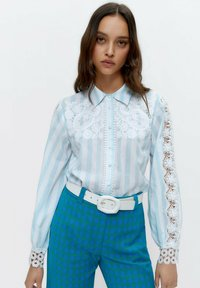Uterqüe - Button-down blouse - multi-coloured - 0